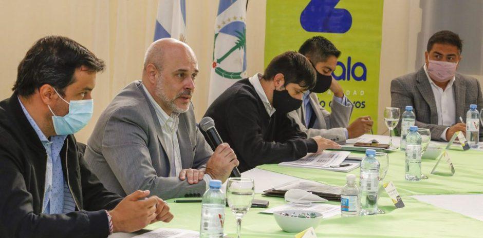 El Gabinete provincial se reunió con intendentes de la zona Centro