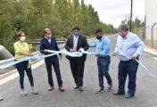 Gaido y Gutiérrez inauguraron 40 cuadras de asfalto en el Oeste de la ciudad