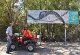 El Municipio neuquino incorporó un cuatriciclo que patrullará el Parque Agreste