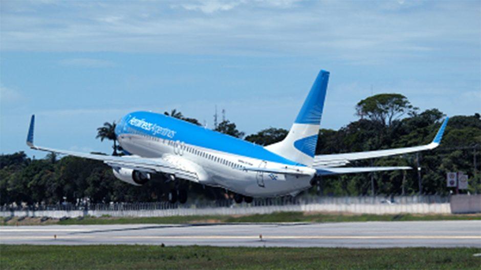 Aerolíneas Argentinas suspendió vuelos a cuatro destinos internacionales por la situación sanitaria