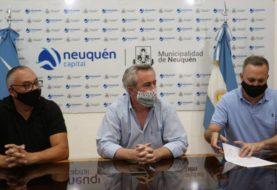 El ejecutivo municipal de la ciudad de Neuquén acordó con el gremio SITRAMUNE un aumento del 12% en dos sumas fijas