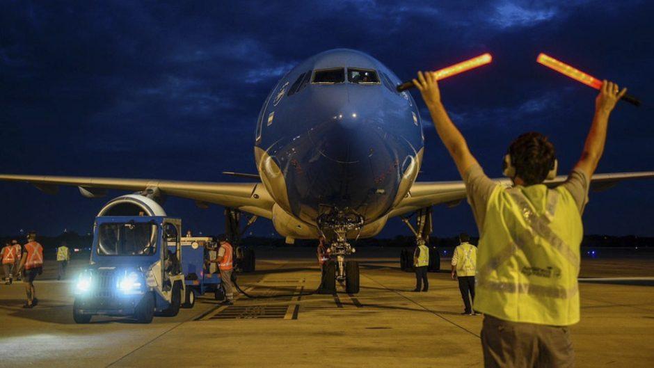 Llegó a Rusia el vuelo de Aerolíneas que traerá más dosis de Sputnik V
