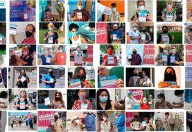 Docentes y adultos mayores, protagonistas de la campaña nacional de vacunación