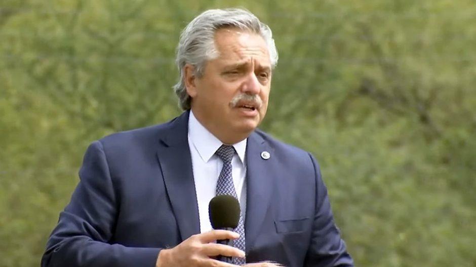 Alberto Fernández anunció en Catamarca un sistema de reducción de aportes para el Norte Grande
