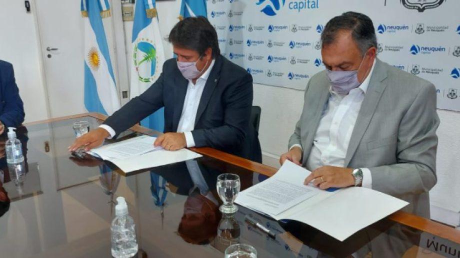 Neuquén y Bariloche firmaron convenios de cooperación para la promoción turística