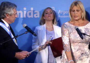 """Alberto Fernández confirmó  que la ministra de Justicia le manifestó su decisión de irse del Gobierno:  su salida es """"una cuestión de tiempo""""."""