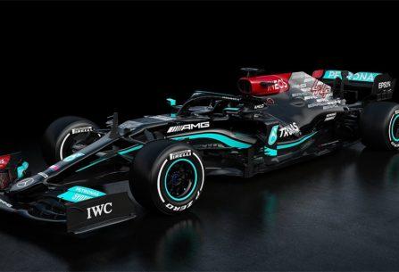 FÓRMULA 1 - Mercedes Benz presentó el modelo 2021, que usará Lewis Hamilton