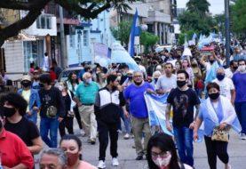Se realizó una nueva marcha en Formosa contra la vuelta a la fase 1 de la cuarentena
