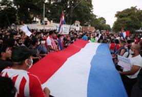 Tercera jornada de protestas en Paraguay: miles de personas se manifestaron para exigir la renuncia de Mario Abdo Benítez
