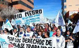 Río Negro: Unter rechazó la oferta del gobierno y lanza un paro de 48 horas