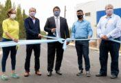 Se inauguró la obra de asfalto en calles del barrio Canal V