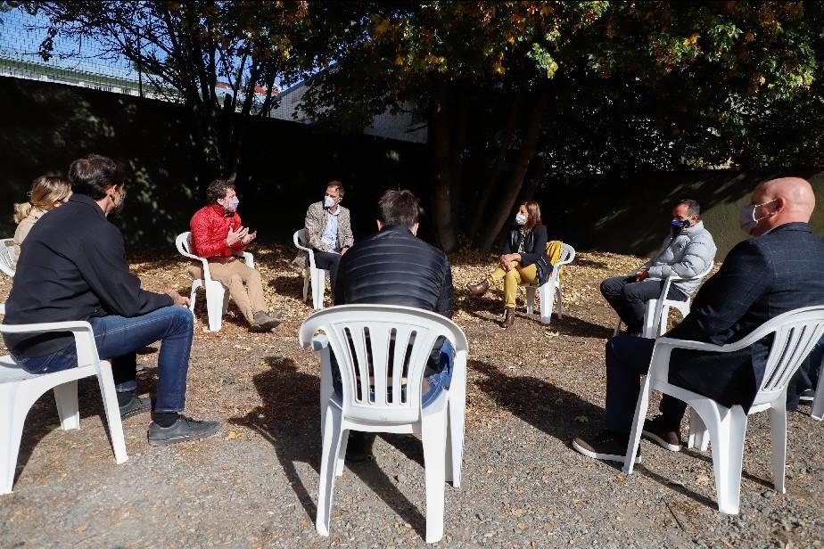 Empresarios de Bariloche comprometieron su colaboración para mejorar los índices sanitarios
