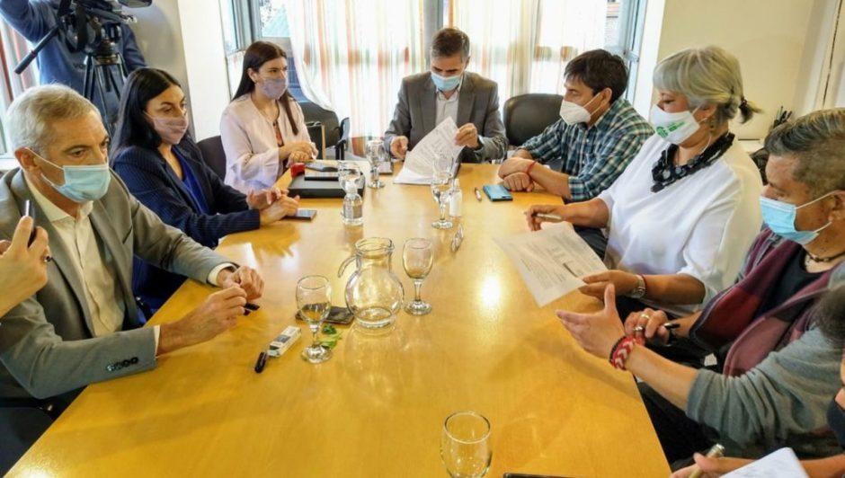 Se firmó el acuerdo salarial entre el gobierno y el gremio ATE