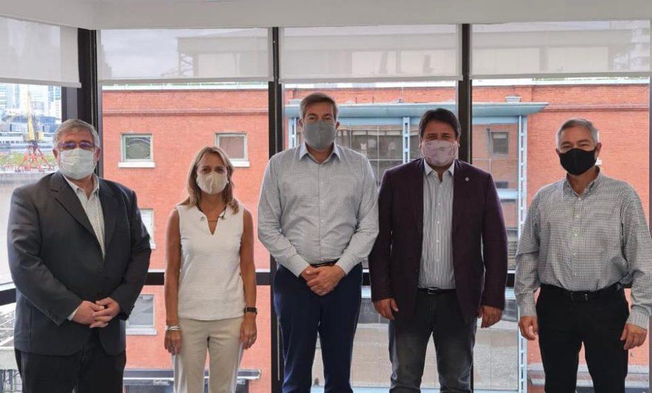 Exitosa reunión de Gaido en Buenos Aires con las autoridades de Camuzzi Gas