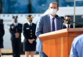 Gutiérrez encabezó el acto del 64º aniversario de la Policía provincial