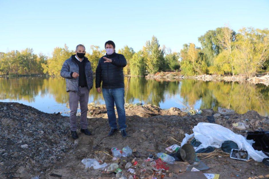 La Municipalidad de Neuquén recuperará un humedal que era utilizado como basural