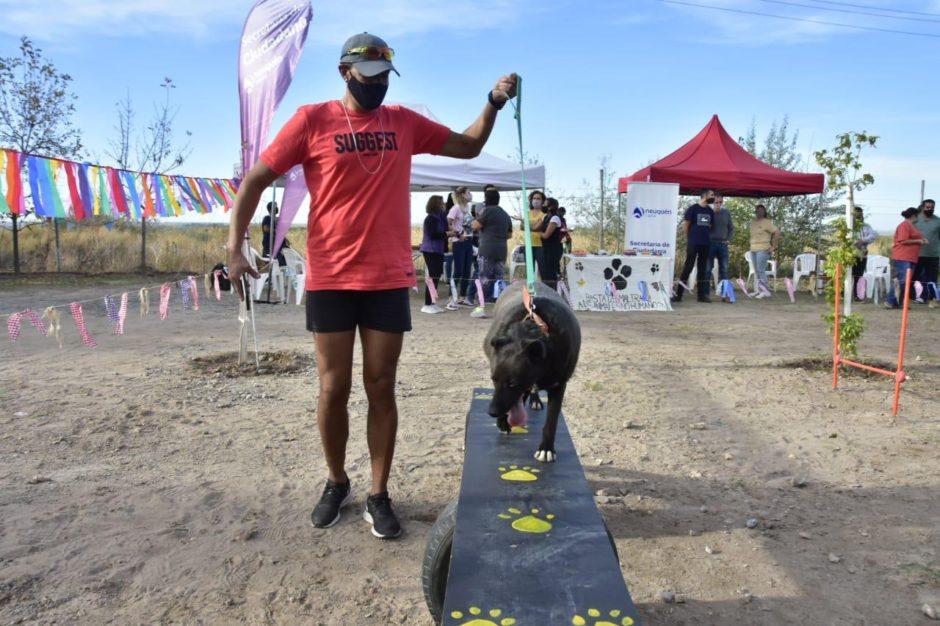 La Municipalidad de Neuquén inauguró una pista de entretenimiento en Bienestar Animal