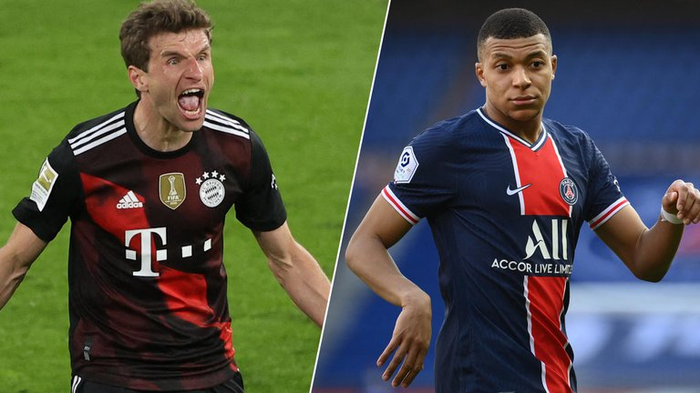Champions League: el Bayern se enfrenta al PSG por los cuartos de final: hora y TV
