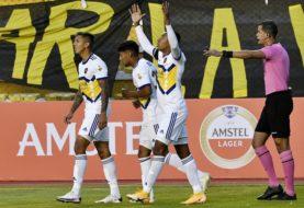 Boca ganó en la altura de La Paz y le ganó 1-0 a The Strongest en su debut en la Copa Libertadores