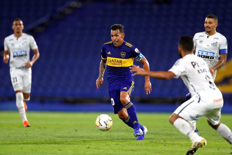 Boca buscará seguir con su racha ganadora frente al Santos en la Copa Libertadores: hora y TV