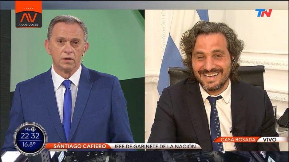 """Santiago Cafiero: """"Las provincias, la Ciudad de Buenos Aires y los privados pueden comprar vacunas por su cuenta"""""""