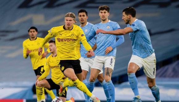Manchester City ganó con un gol sobre la hora