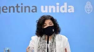 VIVO - COVID-19: Conferencia de prensa de la ministro de Salud Carla Vizzotti