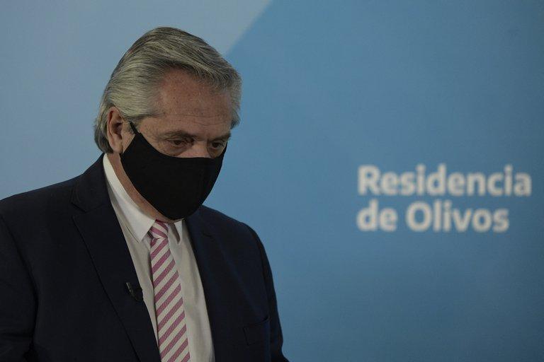 """Alberto Fernández calificó de """"imbéciles"""" y """"miserables"""" a los dirigentes opositores que criticaron las nuevas medidas"""