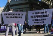 Gremios estatales reclaman al gobierno provincial una urgente solución al conflicto con los trabajadores de la Salud