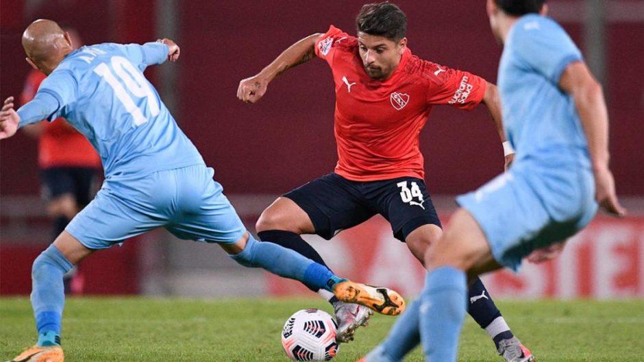 Copa Sudamericana: Independiente ganó y lidera el Grupo B