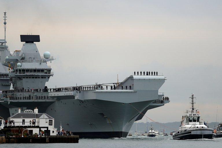 El Reino Unido realizará en Asia el mayor despliegue naval desde la guerra de las Malvinas