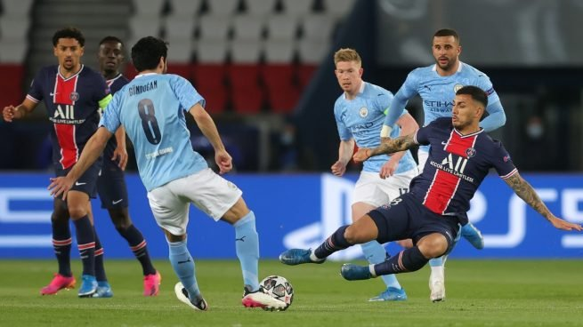 El Manchester City dio vuelta el partido y venció al PSG en la ida de las semifinales de la Champions League