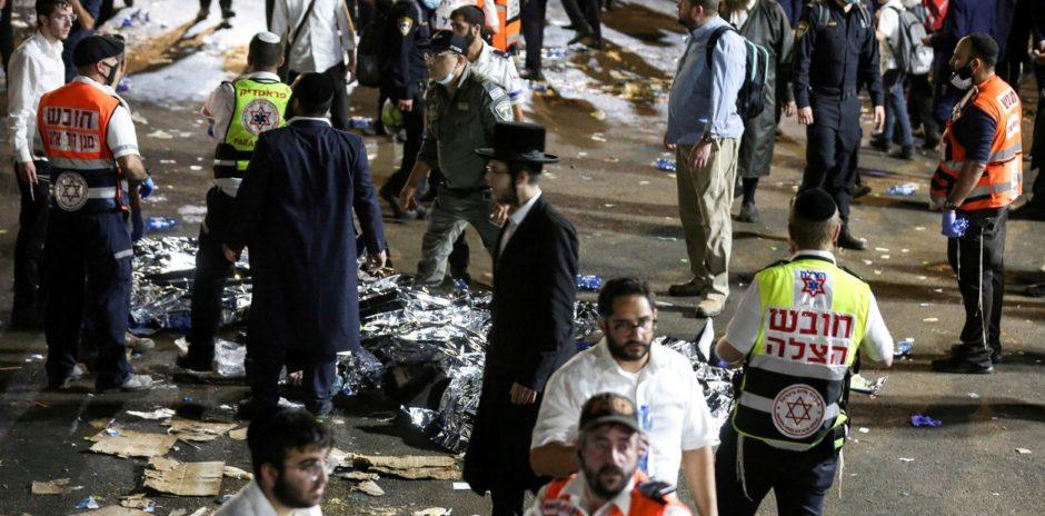 44 muertos tras una estampida durante una celebración religiosa en el norte de Israel