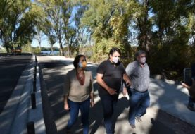 Paseo del Limay: Pavimentan el tramo que llega a Obrero Argentino y en mayo se licita el que llega a la confluencia