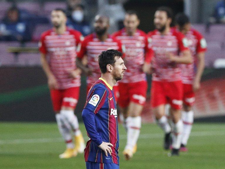 Barcelona perdió ante el Granada y dejó pasar la chance de ser líder