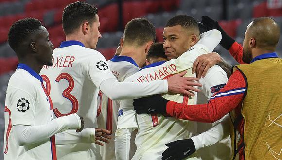En un partido a puro vértigo bajo la nieve de Alemania, el PSG superó al Bayern Munich y sueña con la semifinal de la Champions League