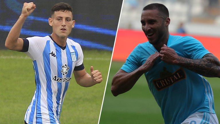 Racing recibe al Sporting Cristal con la necesidad de ganar para no comprometer su futuro en la Copa Libertadores