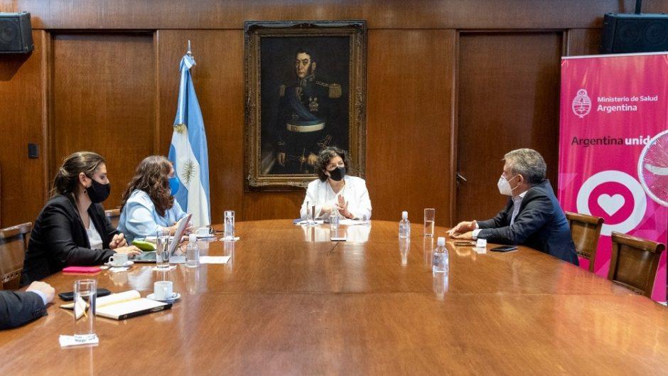 Interés en que Argentina participe en la fase 3 y eventualmente la producción de la vacuna israelí