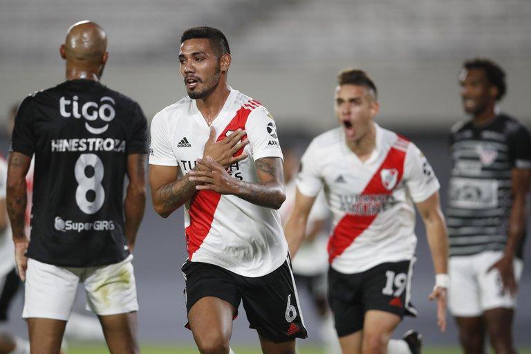 River logró su primer triunfo en la Copa Libertadores: le ganó a 2-1 a Junior en el Monumental
