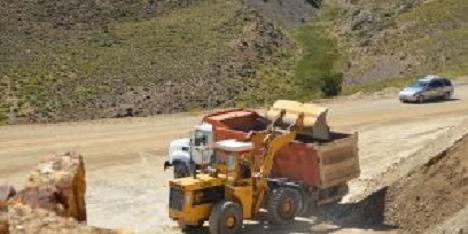 Precaución por equipos viales operando en Ruta Provincial Nº6