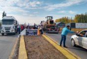 Salud de Río Negro reclama en el tercer puente y hay cortes intermitentes