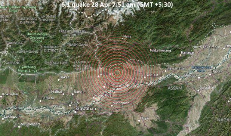 En el peor momento de la lucha contra el Covid-19, India fue sacudida por un fuerte terremoto