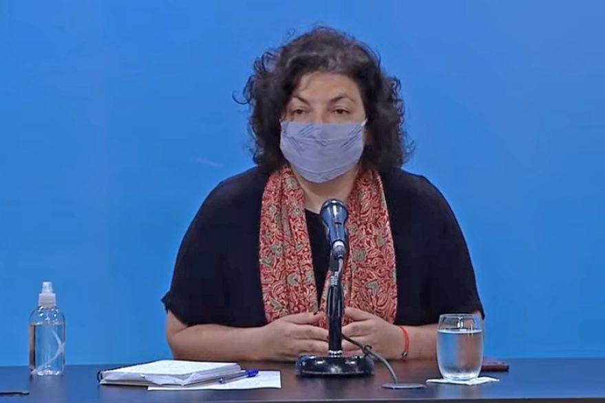 Aumento de casos de COVID-19: la Ministra de Salud de la Nación, Carla Vizzotti, arriba hoy a Neuquén