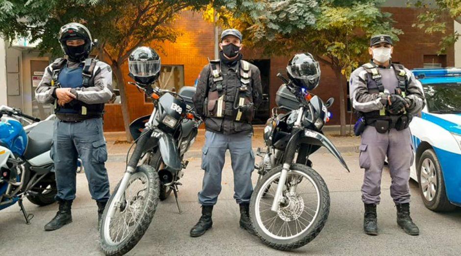 Compran 30 motocicletas para la Policía