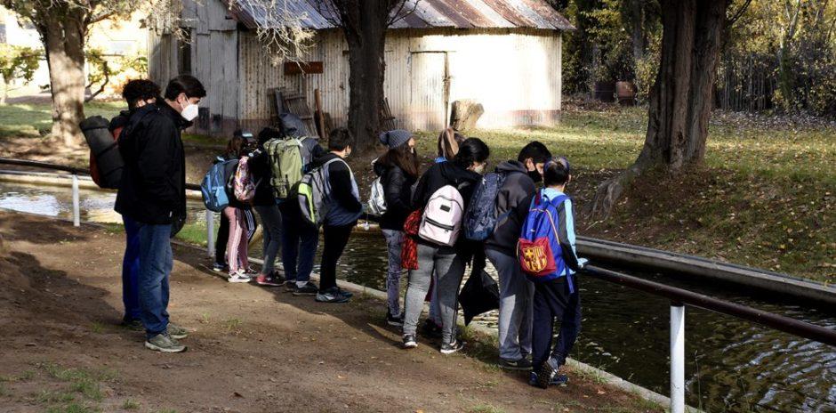 Retomaron las visitas guiadas en Piscicultura de Plottier