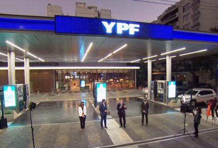YPF presentó la nueva imagen para su red de Estaciones de Servicio