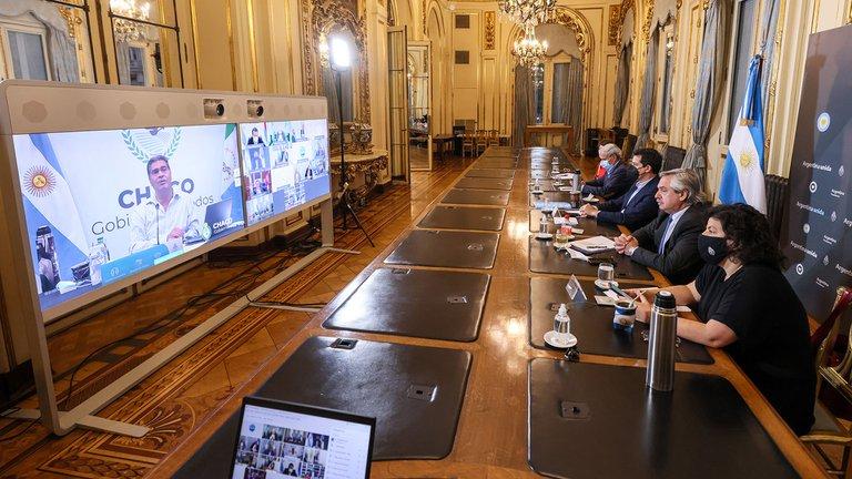 El Presidente realizará la segunda ronda de consulta con los gobernadores