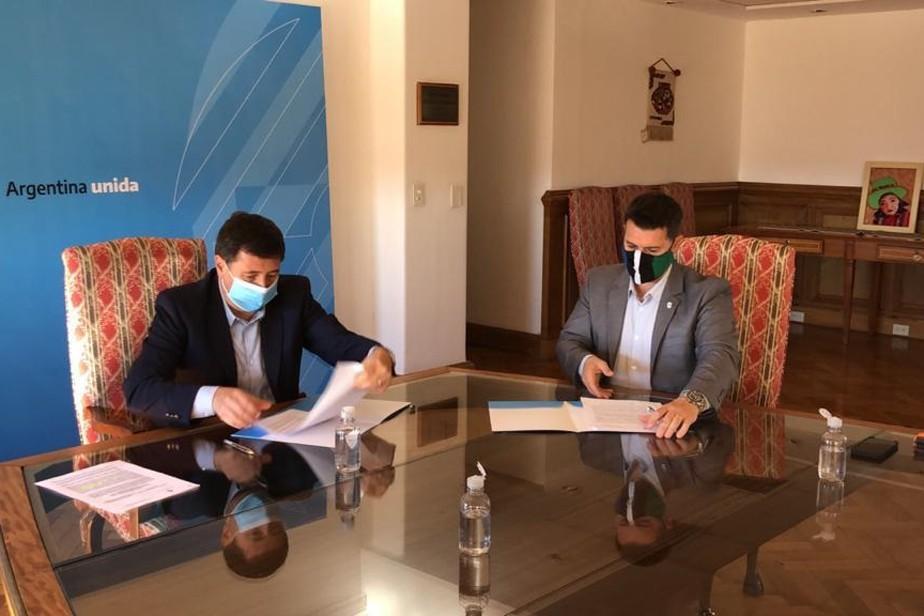 Provincia firmó un convenio con Nación para garantizar la seguridad alimentaria