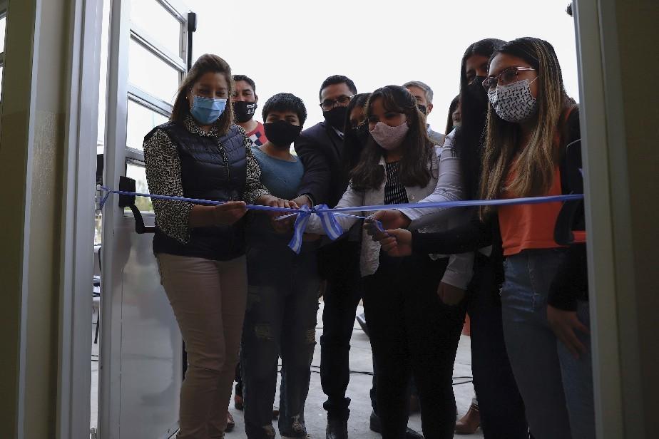 La Gobernadora dejó inaugurada la ampliación de la ESRN 82 de Sierra Colorada