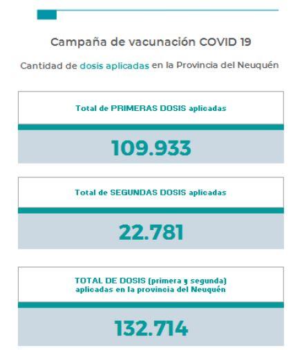 Neuquén sumó 198 casos de coronavirus y 4 muertos el domingo